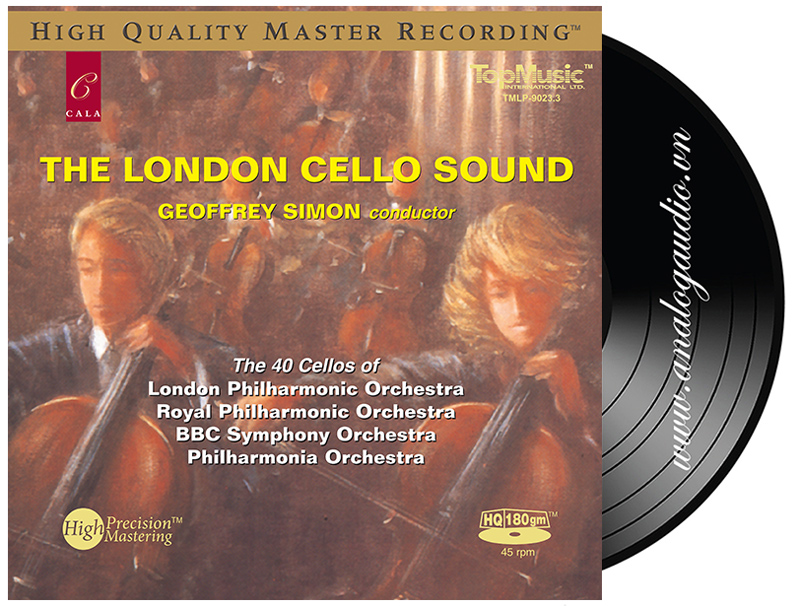 The London Cello Sound (45rpm)