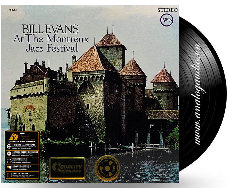 BILL EVANS - At The Montreux Jazz Festival