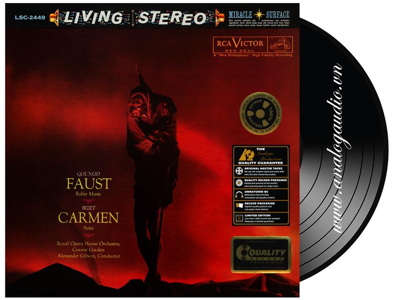 Faust ballet music & Carmen Suite