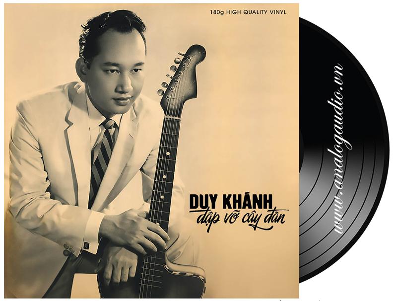 Đĩa than Duy Khánh - đập vỡ cây đàn