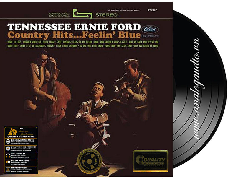 TENNESSEE ERNIE FORD - country hits ... feelin blue
