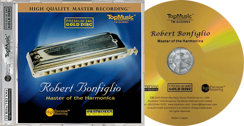 Robert Bonfiglio - Master of the Harmonica