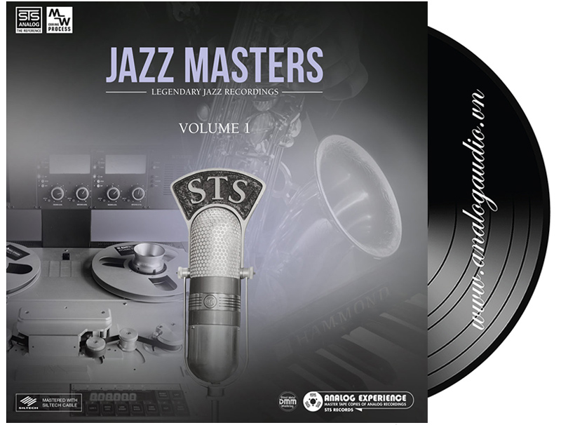 JAZZ MASTERS volume 1 - LP