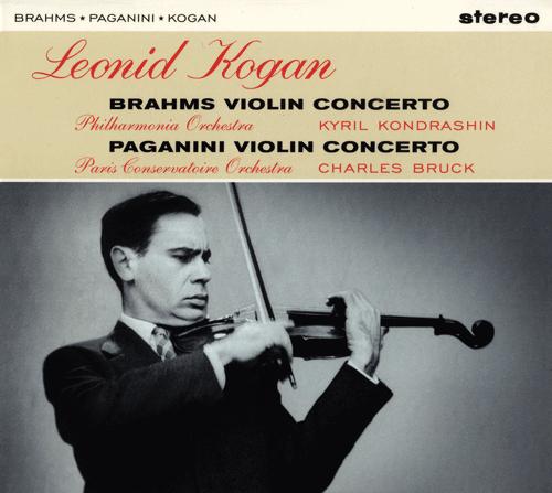 Leonid Kogan - Brahms & Paganini violin concerto