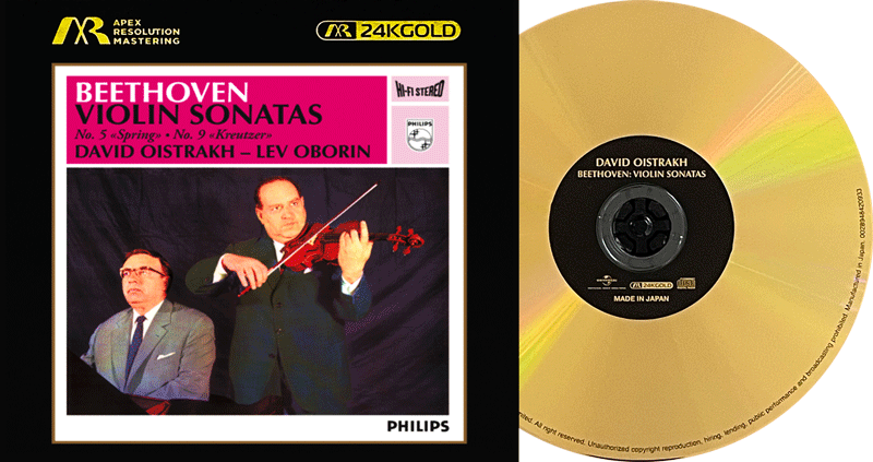 BEETHOVEN : VIOLIN SONATAS no. 5 & 9