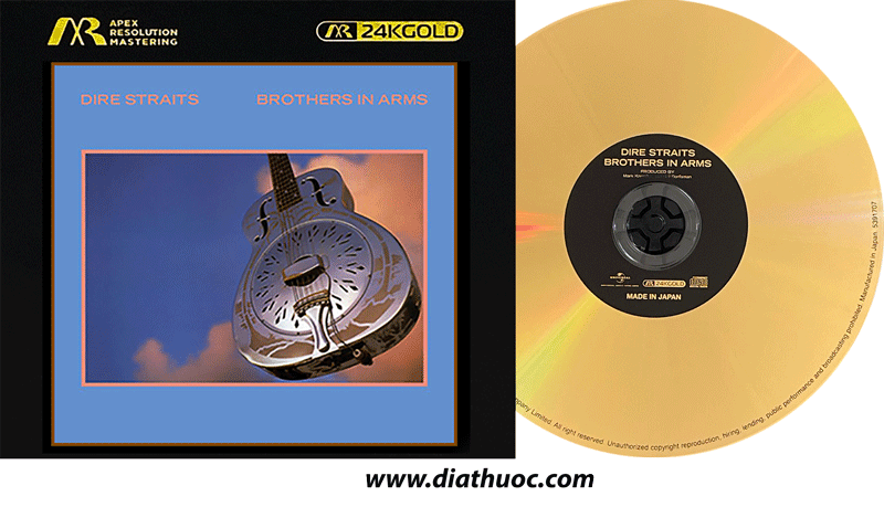 DIRE STRAITS - brothers in arms (24K Gold)