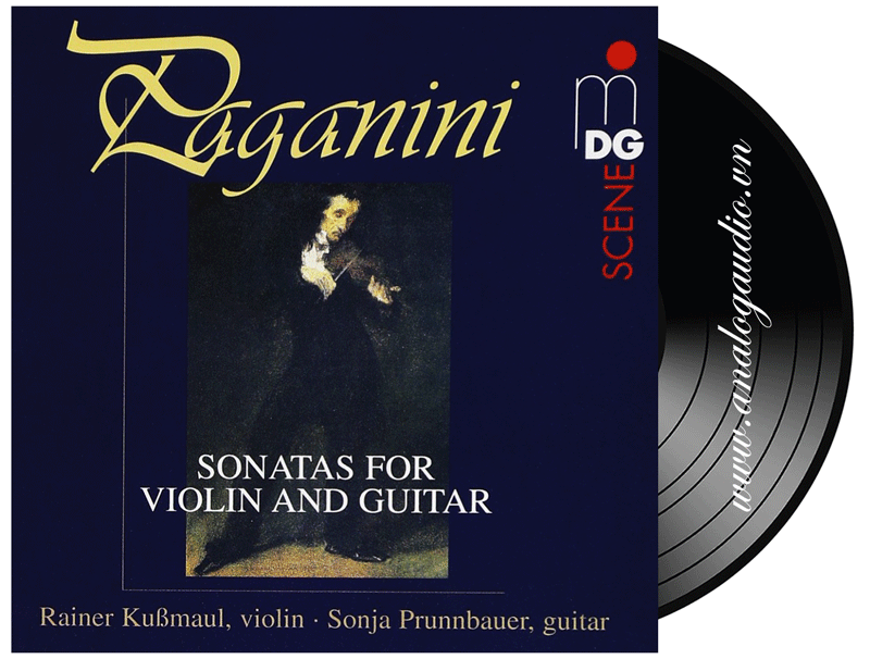PAGANINI : sonatas for violin and guitar