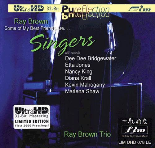 RAY BROWN some of my best friends are singers