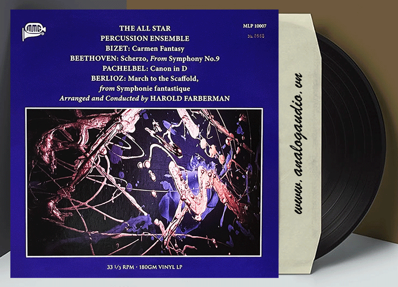 THE ALL STAR PERCUSSION ENSEMBLE (Vinyl)