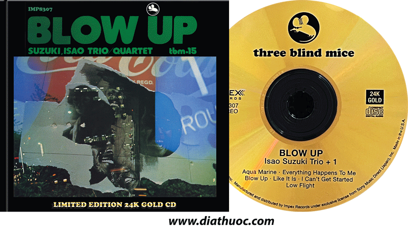 Isao Suzuki - BLOW UP