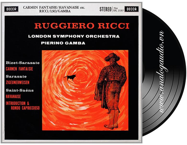 Ruggiero Ricci - Carmen Fantasie etc.