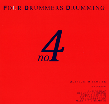 Four drummers drumming no.4