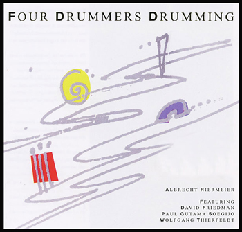 Four Drummers Drumming