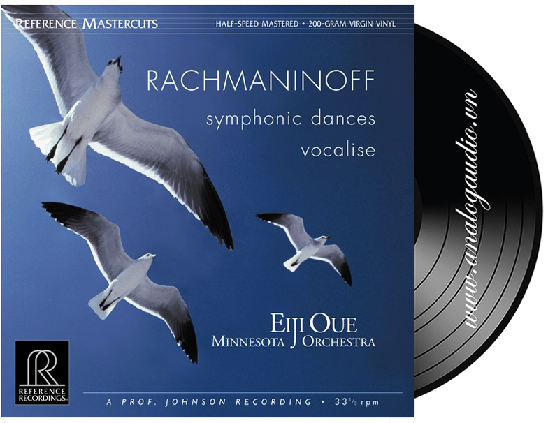 RACHMANINOFF symphonic dances vocalise