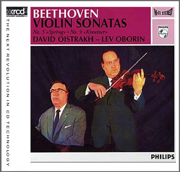 BEETHOVEN VIOLIN SONATAS no. 5 & 9