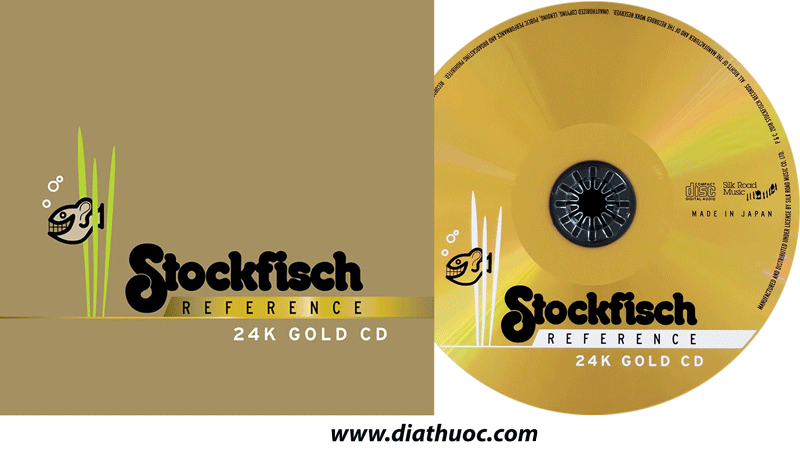 Stockfisch Reference 24k gold CD