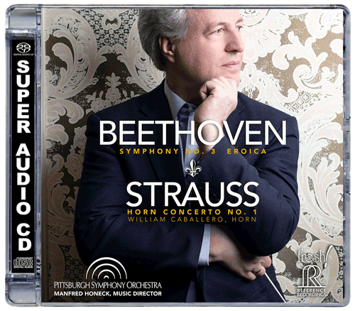 BEETHOVEN: Symphony No 3 & STRAUSS: Horn Concerto No. 1